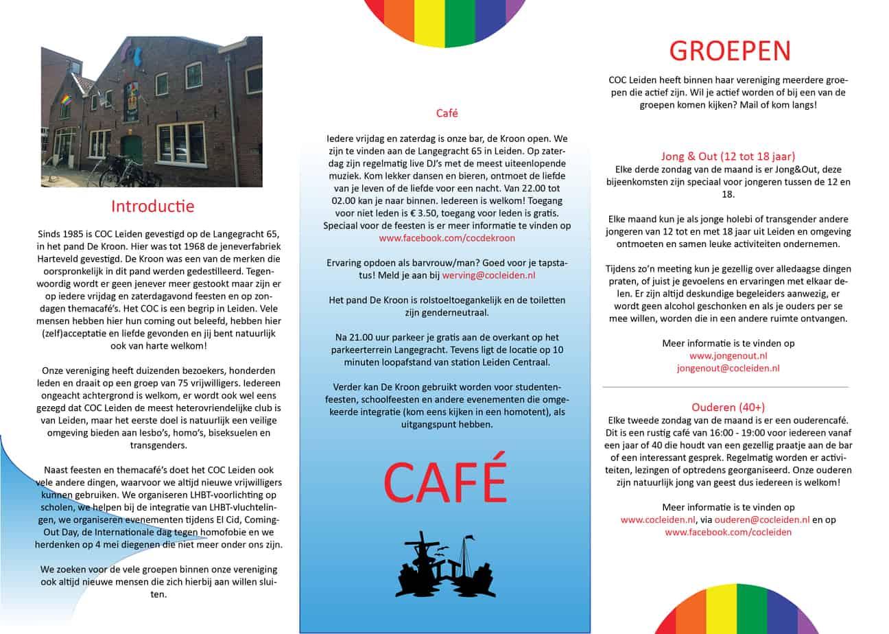 Huisstijl COC Leiden